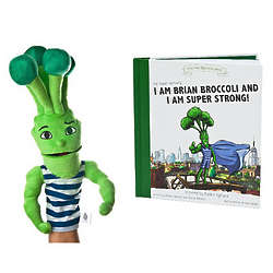 Super Sprowtz Book with Broccoli Puppet