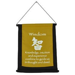 Wisdom Mini Zen Wall Hanging