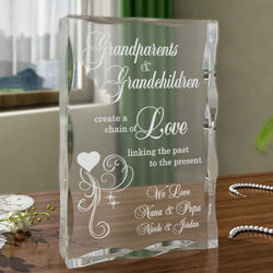 Personalized A Chain of Love Plaque