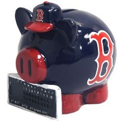 Boston Red Sox Small Piggy Bank