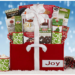 Holiday Coffee and Cocoa Gift Basket Assortment