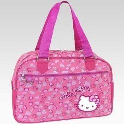 Hello Kitty Pink Leopard Overnight Bag