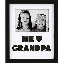 Personalized We Heart Name Cut-Out Frame