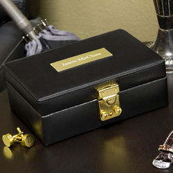 Personalized Men's Jewelry Box