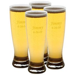 Personalized Grand Pilsner Glasses