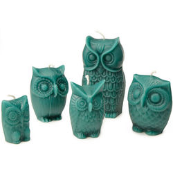 Honey Scented Owl Candles