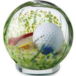 Sand Trap Golf Ball Paperweight