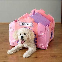 Personalized Plush Castle Pet House