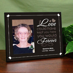 Personalized Memorial Printed Frame