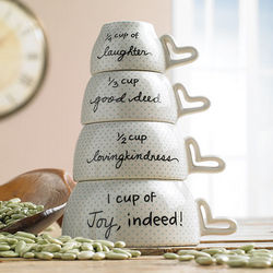 Joy and Laughter Measuring Cups