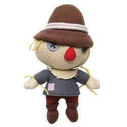 Wizard of Oz Scarecrow Button-Eye Mini Plush Doll