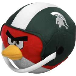Michigan State Spartans Angry Birds Helmet Plush