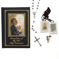 Boy's Classic First Holy Communion Gift Set
