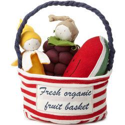 Fresh Organic Fruit Basket Toys