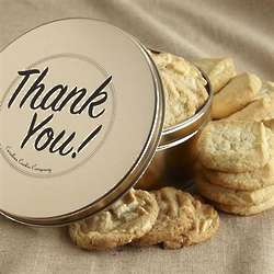 Thank You Gourmet Cookie Tin - 3 Dozen