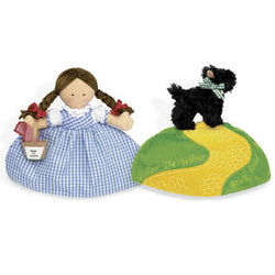 Dorothy and Toto Topsy Turvy Doll