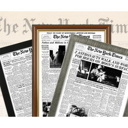 New York Times Front Page Historic Newspaper Print