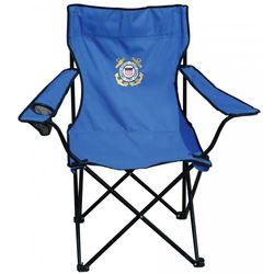 us coast guard embroidered folding chair findgift