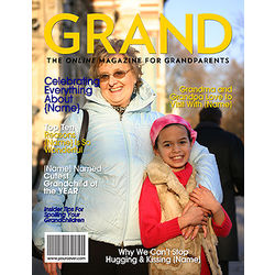 Grand Personalized Magazine Cover For Grandparents