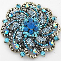 Elegant Luxury Flower Brooch