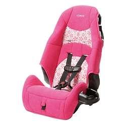 Pink Highback Booster Car Seat