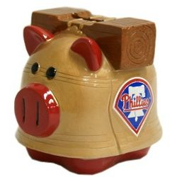 Philadelphia Phillies Piggy Bank