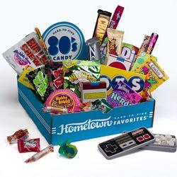 1980s Nostalgic Candy Box