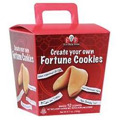 Create Your Own Fortune Cookies Kit