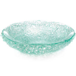 Reclaimed Junkyard Glass Bowl