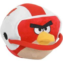 Wisconsin Badgers Angry Birds Helmet Plush