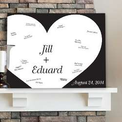Shadow of Love Personalized Canvas