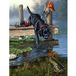 Nibbles - Dog Sees a Fish Puzzle