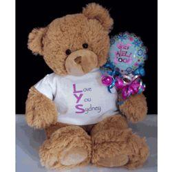 Love You Get Well Teddy Bear