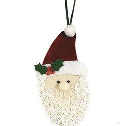 Button Beard Santa Ornaments Craft Kit