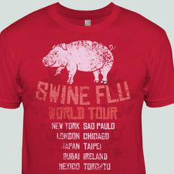 Swine Flu World Tour T-Shirt