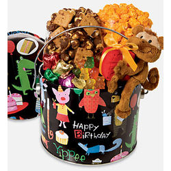 Birthday Animal Fun Snack Pail