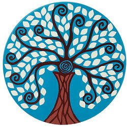Tree of Enlightenment Wall Hanging