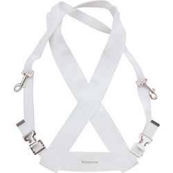 Bass Drum Sling in White