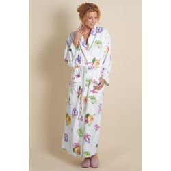 Secret Garden Floral Terry Cotton Robe