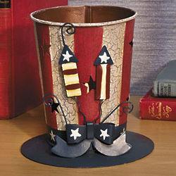 Uncle Sam's Hat Tealight Candleholder