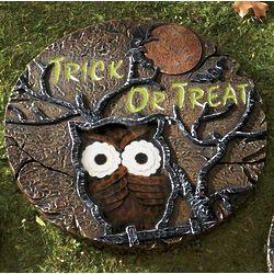 Glow-in-the-Dark Owl Stepping Stone