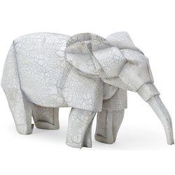 Origami Elephant Garden Statue