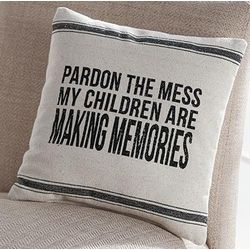 Pardon the Mess Pillow