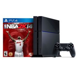 Sony Playstation 4 500 Gb System with Nba 2K14 Game