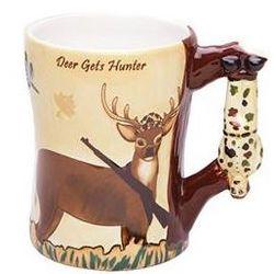 Deer Gets Hunter Coffee Mugs