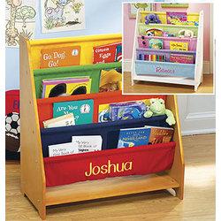 Personalized Canvas Bookcase
