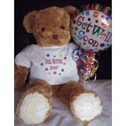 Feel Better Get Well Teddy Bear