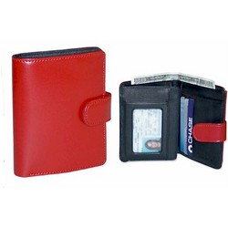 Milano Italian Leather Tri-Fold Wallet