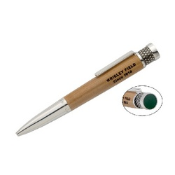 Wrigley Field Authentic Seat Ball Point Pen
