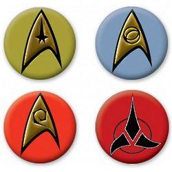 Star Trek Classic Buttons